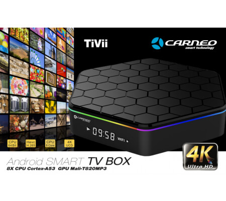 CARNEO TiVii - Android SMART TV BOX